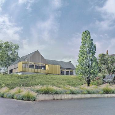 Réhabilitation de l''ancienne école primaire en Maison des Associations à Plédran