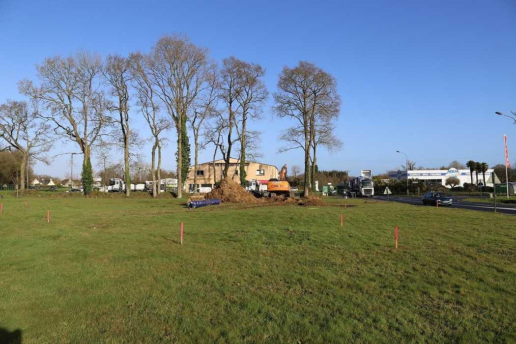 Construction de l''office du tourisme - Lanvollon 0