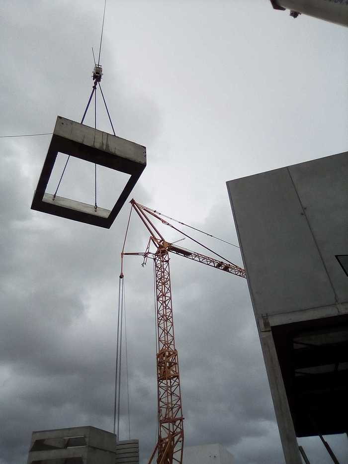 Construction d''un bâtiment et d''une centrale béton pour Lafarge à Yffiniac 26
