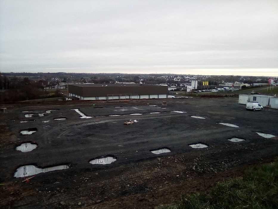 Construction d''un bâtiment industriel pour Le Petit Forestier à Yffiniac img20190124092943
