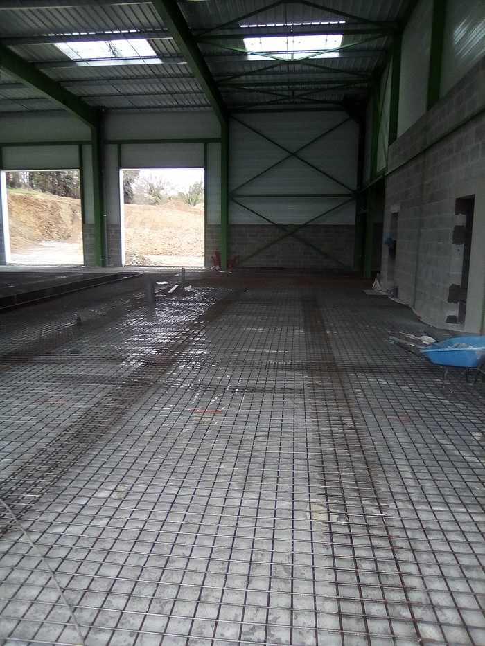 Construction d''un bâtiment industriel pour Le Petit Forestier à Yffiniac img20190312094856