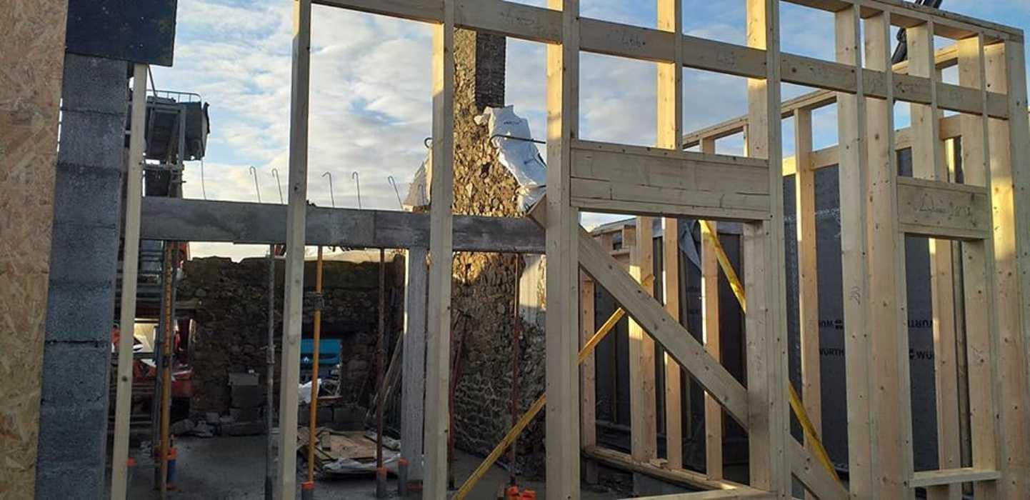 Construction et rénovation de 6 logements pour Côtes D''Armor Habitat - Morieux 0
