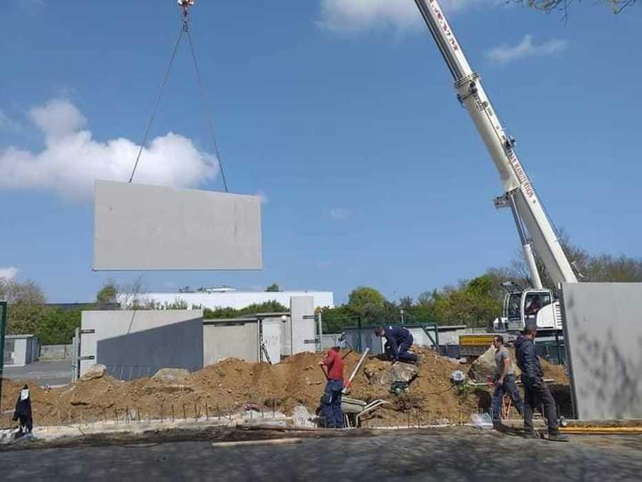 Installation 100m de prémurs - Aire des gens du voyage à Chaptal Saint Brieuc 0